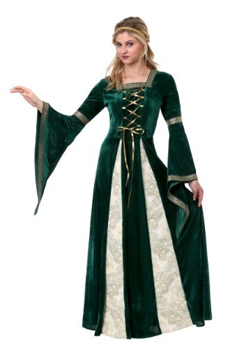 WOMENS RENAISSANCE MAIDEN COSTUME