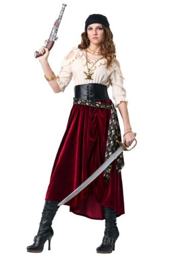 WOMENS ROVING BUCCANEER COSTUME