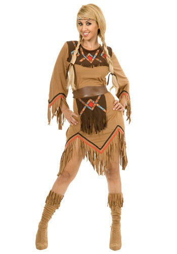 WOMEN'S SACAJAWEA MAIDEN COSTUME