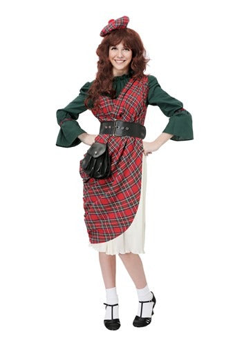 WOMEN'S SCOTTISH LASSIE COSTUME