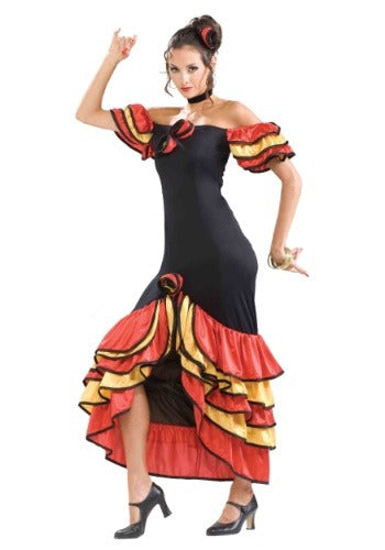 SPANISH LADY COSTUME FOR WOMEN