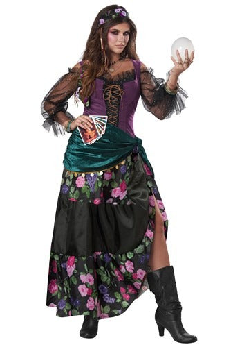 WOMENS TELLER OF FORTUNES COSTUME