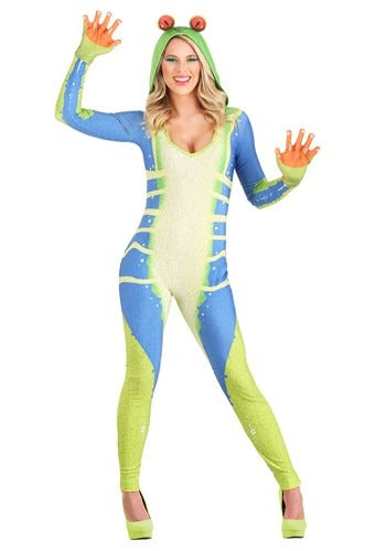 TREE FROG COSTUME FOR WOMEN