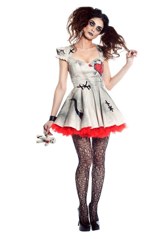 WOMEN'S VOODOO DOLL COSTUME