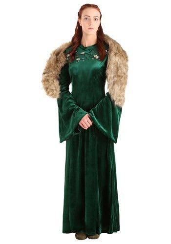 WOMENS WOLF PRINCESS COSTUME