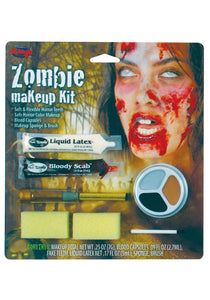 WOMEN'S ZOMBIE MAKEUP KIT