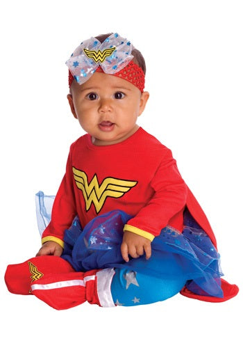 Infant Wonder Woman Romper Costume
