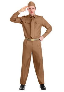 ADULT WW2 ARMY COSTUME