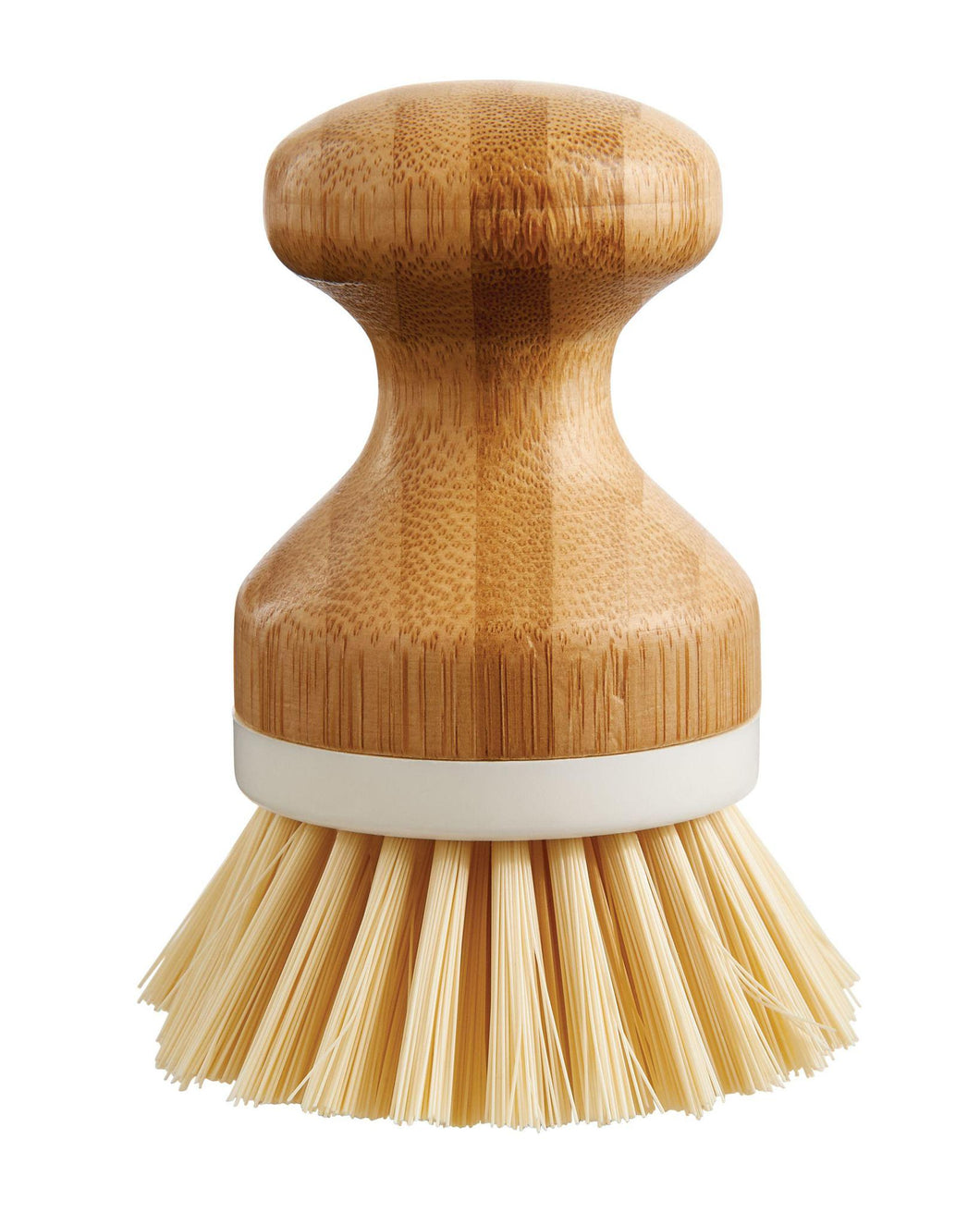HIC Bamboo Vegetable Scrubber Dishwashing Brush