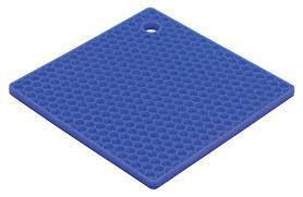 HIC Silicone Honeycomb Trivet, Blueberry