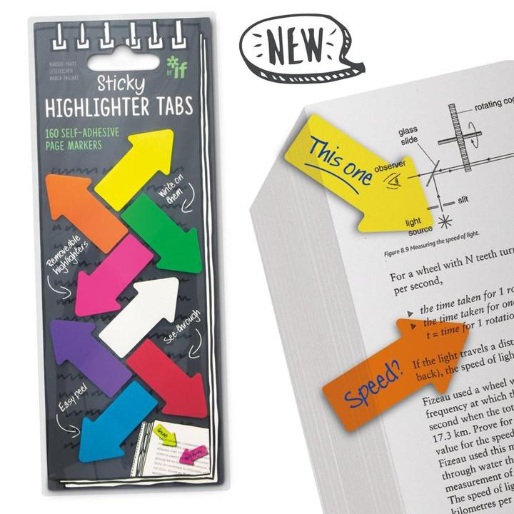 STICKY HIGHLIGHTER TABS