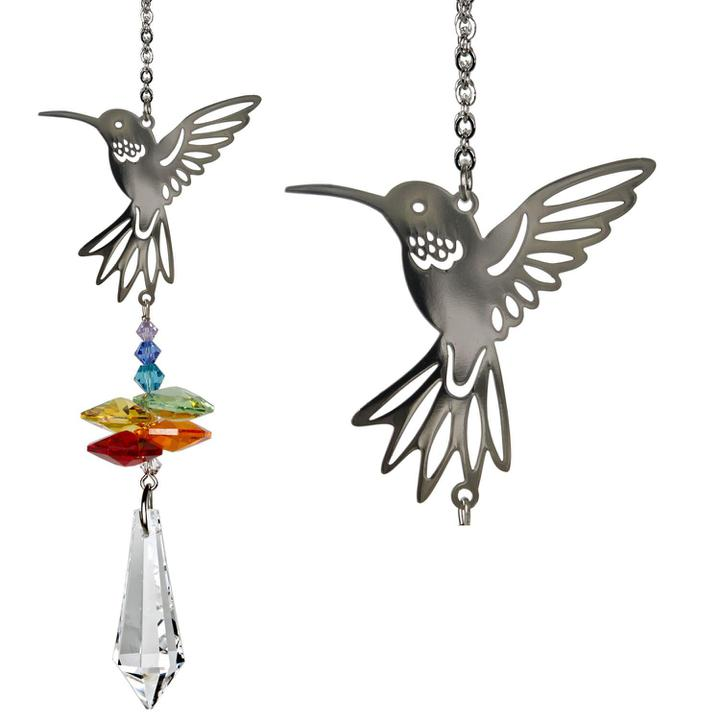 Crystal Fantasy Suncatcher - Hummingbird