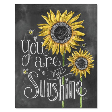 You Are My Sunshine - Print & Canvas 8 X 10 Print