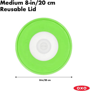 "OXO Good Grips 8"" Reusable Silicone Lid"