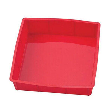Mrs. Anderson's Silicone Square Cake Pan BPA Free 9 inch x 9 inch