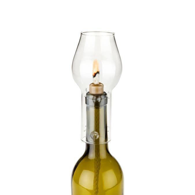 Boulevard: Hurricane Bottle Lamp