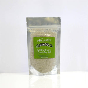 S.A.L.T. Sisters Sel Gris Organic French Sea Salt