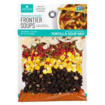 Frontier Soups: South of the Border Tortilla Soup Mix