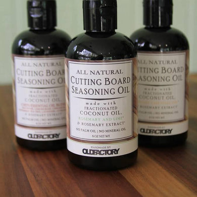 All Natural Cutting Board Seasoning Oil - Rosemary & Lime