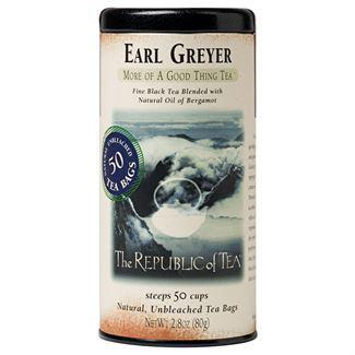 Republic of Tea Earl Greyer Black Tea Bags