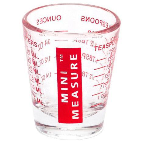 Mini Measuring Glass - Red