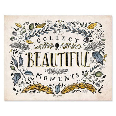 Collect Beautiful Moments - Print & Canvas 11 x 14 Canvas