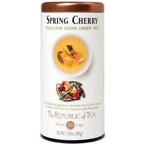 Republic of Tea Spring Cherry Green Full-Leaf Tea