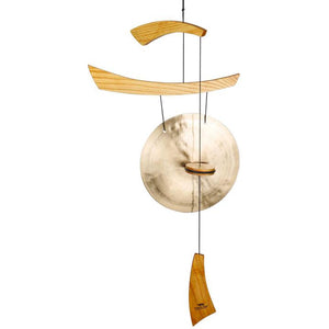 Woodstock Wind Chime Emperor Gong - Medium, Natural