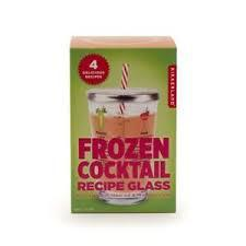 Frozen Cocktail Recipe Glass