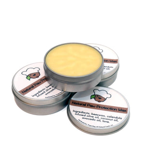 Natural Paw Protection Wax Tin