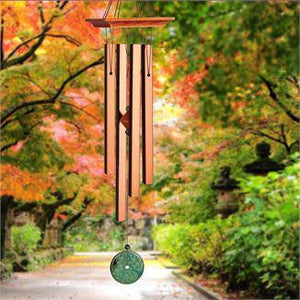 Woodstock Wind Chime Turquoise Chime - Medium