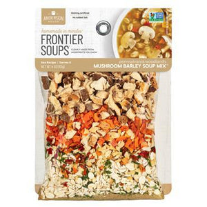 Frontier Soups: Pennsylvania Woodlands MUSHROOM BARLEY SOUP MIX