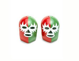 Kikkerland Dos Luchadores Salt and Pepper