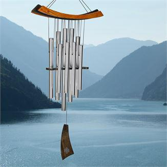 Woodstock Wind Chime Healing Chime - Silver