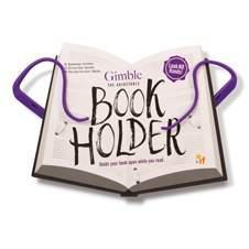 GIMBLE ADJUSTABLE BOOK HOLDER-POSITIVELY PURPLE