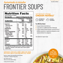 Load image into Gallery viewer, Frontier Soups: Connecticut Cottage Chicken Noodle Soup Mix