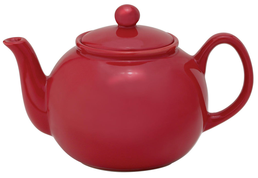 HIC Teapot Caddy, Rose English 32oz 6 cup