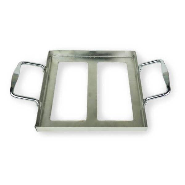 Salt Plate Stainless Steel Tray - Holder 8