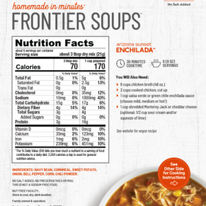 Frontier Soups: Arizona Sunset ENCHILADA SOUP MIX