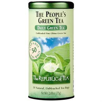 Republic of Tea The People's Green Tea Bags