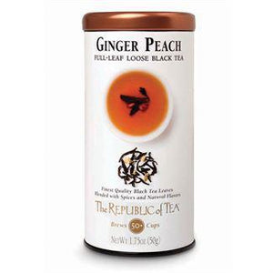 Republic of Tea Ginger Peach Black Full-Leaf Tea