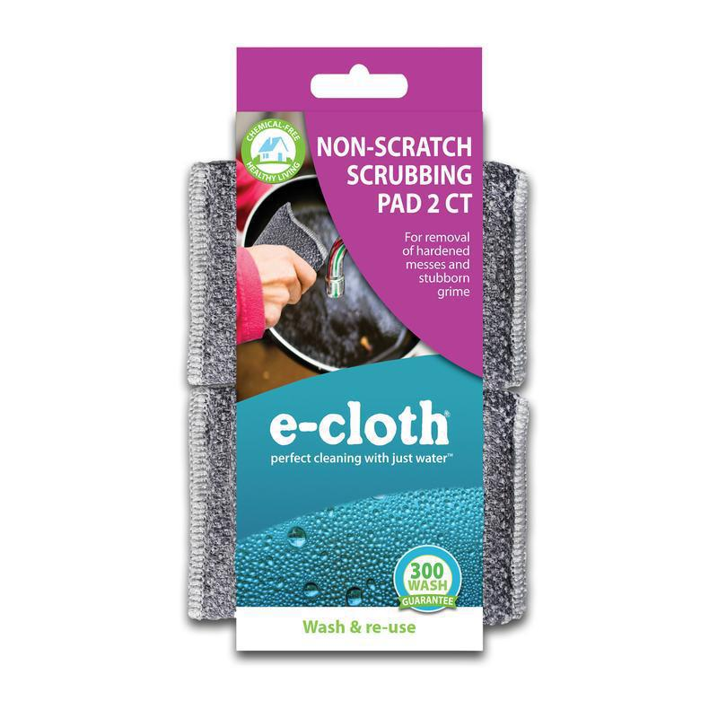 E-Cloth Non-Scratch Scrubbing Pads 2-Pack