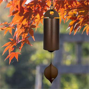 Woodstock Wind Chime Heroic Windbell - Large, Antique Copper