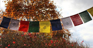 Small Green Tara Prayer Flags