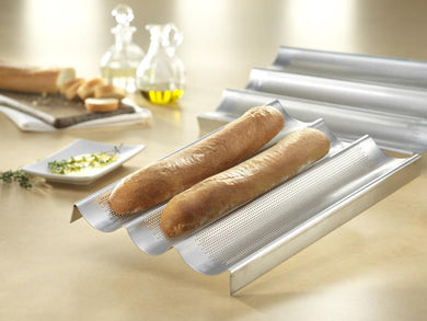 USA PAN® French Baguette Pan - 3 Loaves