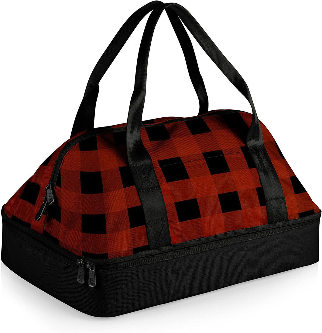 Potluck Casserole Tote - Red Buffalo Plaid