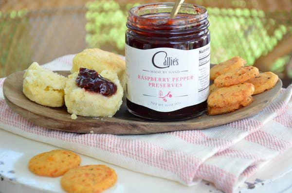 Callie's Raspberry Pepper Jam