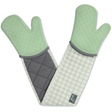 Load image into Gallery viewer, Steam Stop™ Waterproof Classic Double Oven Gloves