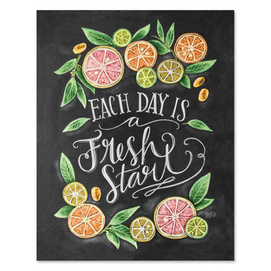 Fresh Start - Print & Canvas 5 X 7 Print