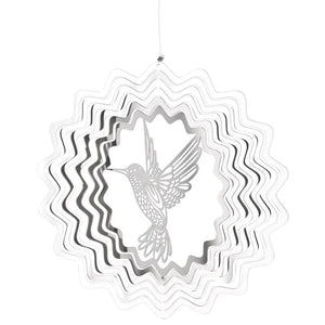 Woodstock Wind Chime Shimmers - Hummingbird